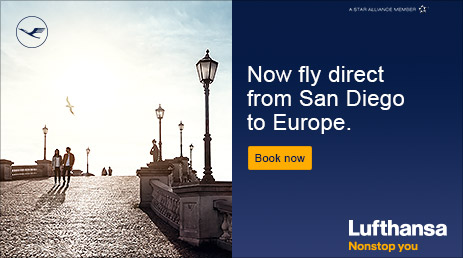 Lufthansa: Now fly direct to Europe