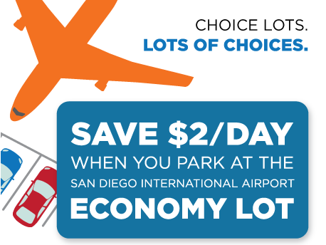 Economy Parking at San Diego International Airport