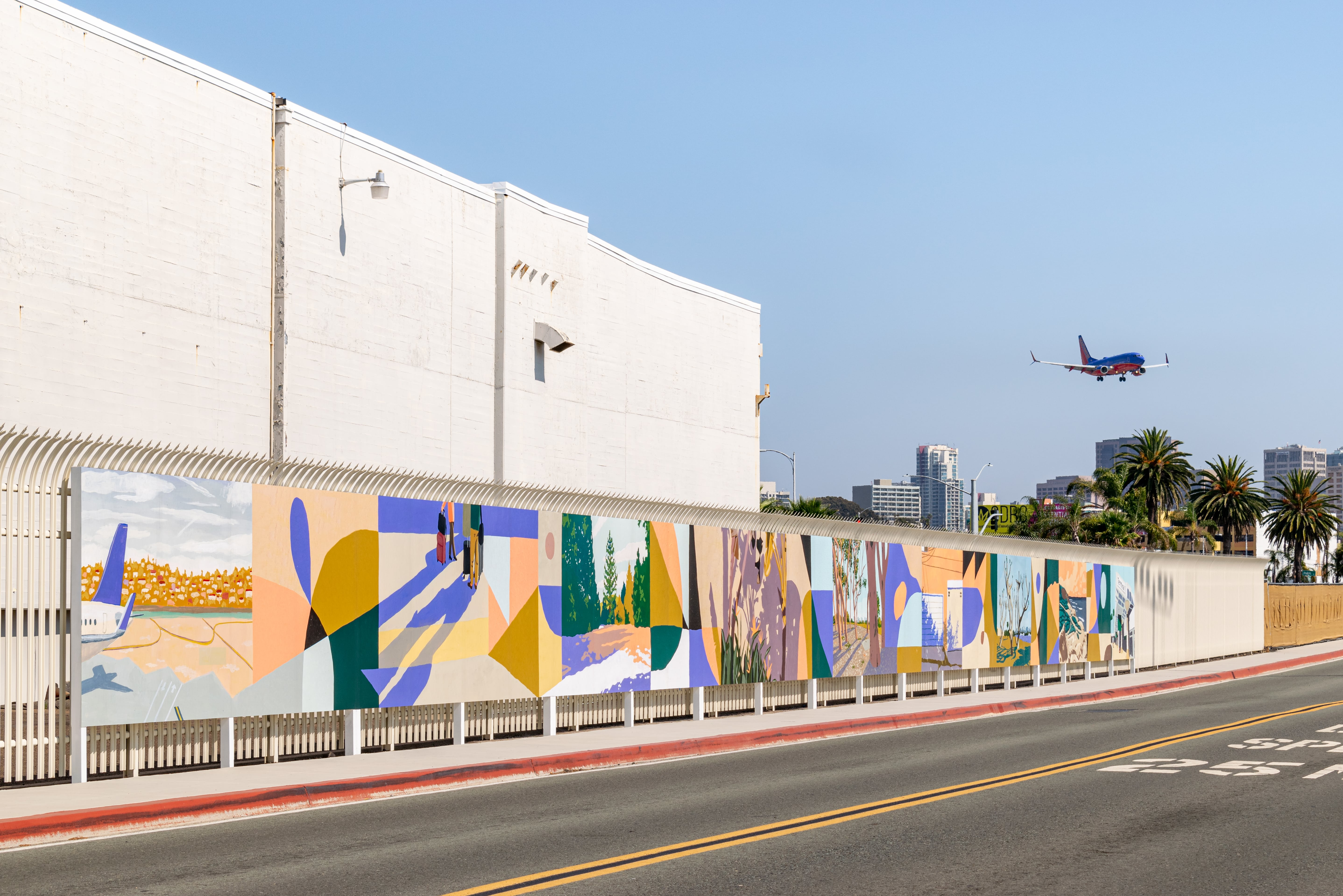 SAN Arts Program Welcomes Fall Performing Arts Resident & Debuts New Mural on Admiral Boland Way