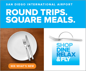 Round Trips. Square Meals.